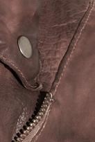 Muu Baa Muubaa Monteria distressed leather jacket