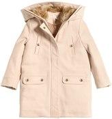 Chloé Hooded Virgin Wool Coat
