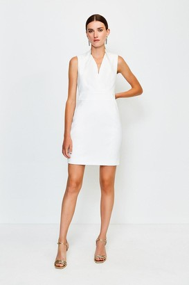 Karen Millen Cut Out Back Mini Dress