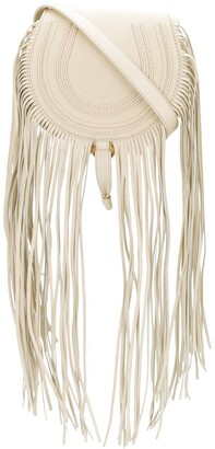 Chloé mini Marcie fringed crossbody bag