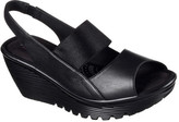 Skechers Women's Parallel Strut Platform Wedge Sandal