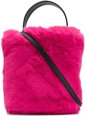 Karl Lagerfeld Paris x Carine Roitfeld bucket bag