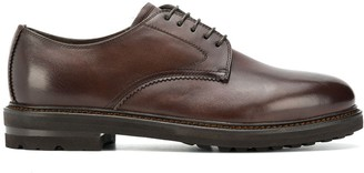 Henderson Baracco Lace-Up Shoes With Faux Fur Lining