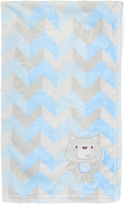 Baby Essentials Large-Chevron Bear Receiving Blanket