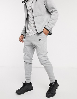 Nike Tech Fleece Jogger In Grey 805162