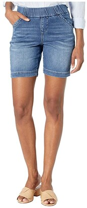 Jag Jeans Petite 7 Petite Gracie Pull-On Shorts (Mission) Women's Shorts