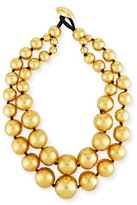 Viktoria Hayman Beaded Double-Strand Necklace