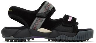 Off-White Off White Black Oddsy Minimal Trekking Sandals