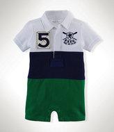 Ralph Lauren 3-12 Months Pieced Rugby Shortall