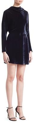A.L.C. Marin Draped Mini Dress