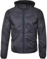 Michael Kors Hooded Padded Jacket Blue