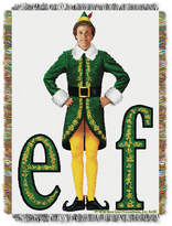 Warner Brothers Elf Movie Pose Triple Woven Tapestry Throw Bedding