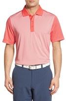 Cutter & Buck 'Compound Mixed Stripe' DryTec Golf Polo