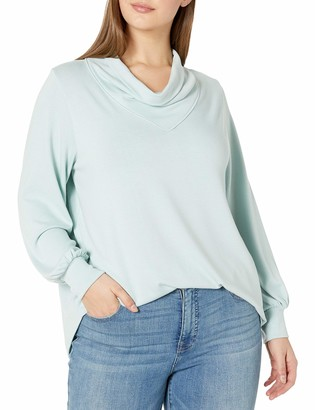 Karen Kane Women's Plus Size Cowl Neck Sweater