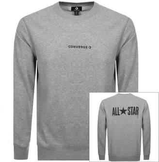Converse Logo Sweatshirt Grey