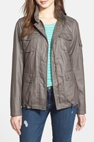 Vince Camuto Coated Four Pocket Jacket