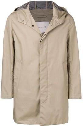 MACKINTOSH Hooded Midi Raincoat