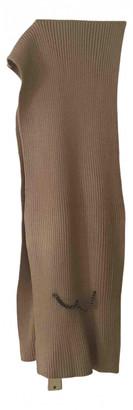Hotel Particulier Beige Wool Scarves
