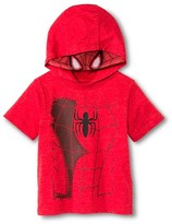 Toddler Boys' Spiderman Costume Tee - Red