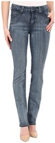 Miraclebody Jeans Katie Straight Leg Jeans in Newburg Blue