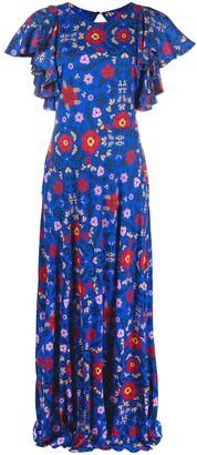 La DoubleJ Damigella floral-print dress