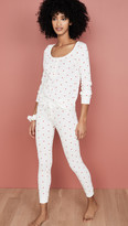 Plush Thermal Heart PJ With Scrunchie Set