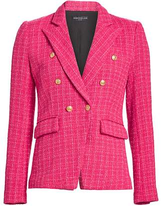 Generation Love Alexa Tweed Double-Breasted Blazer