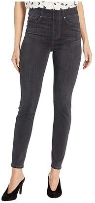 Liverpool Chloe Pull-On Ankle Skinny in Silky Soft Denim in Meteorite (Meteorite) Women's Jeans