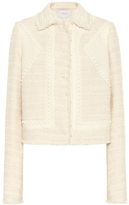Giambattista Valli Studded cotton-blend jacket