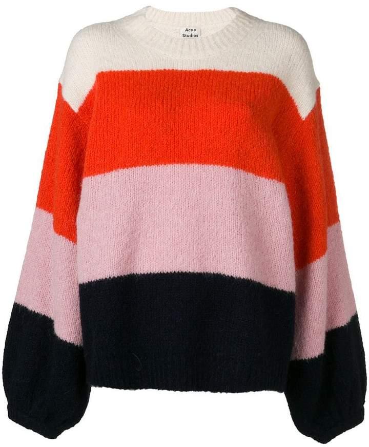 1a065f83ba3 Acne Striped Sweater - ShopStyle