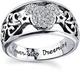 Disney Mickey Mouse Womens Mickey Ring Sz 9