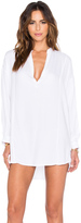 Mikoh Cannes Long Sleeve V Neck Tunic
