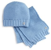 Armani Junior Armani Infant Boys' Knitted Cap & Scarf Set - Sizes S-L