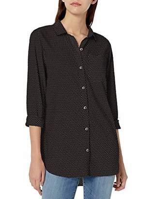 Goodthreads Lightweight Poplin Long-sleeve Boyfriend Shirt Button,S