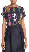 Ted Baker Women's 'Couture Horticultural' Print Tee