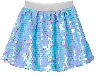 Hatley Opalescent Sequin Skirt (Toddler/Little Kids/Big Kids) (Purple) Girl's Skirt
