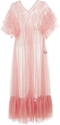Azalea By Moumi Tulle Dress In
