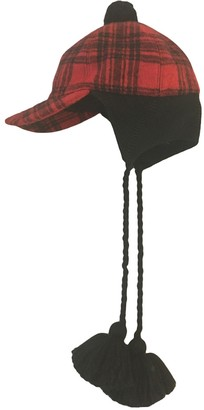 Gucci Red Wool Hats