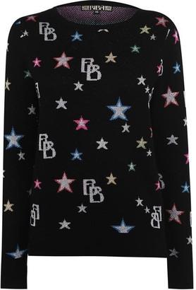 Biba Star All Over Print Jumper
