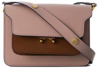 Marni push-lock satchel