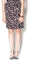 Royal Jelly Harlem Burgundy Pencil Skirt