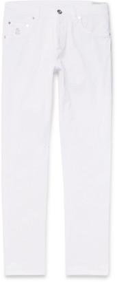 Brunello Cucinelli Slim-Fit Denim Jeans