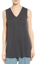 Eileen Fisher Women's Tencel Knit High/low Tank