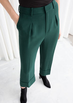 And other stories Mid Rise Cuffed Trousers