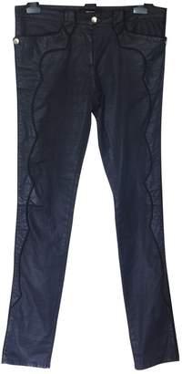 Isabel Marant \N Anthracite Cotton - elasthane Jeans