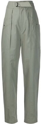 Etoile Isabel Marant High-Waisted Tapered Trousers