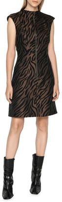Cue Zebra Mini Dress
