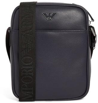 Emporio Armani Eagle Logo Cross-Body Bag