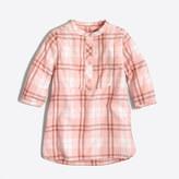 J.Crew Factory Girls' flannel tunic