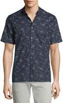 Theory Men's Murrary Scatter-Print Short-Sleeve Sport Shirt